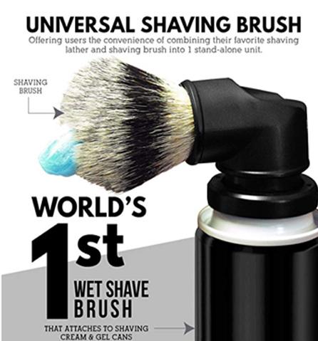 The Evolution Shaving Brush