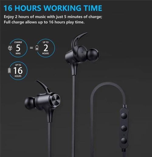 Boltune Bluetooth Sports Headphones